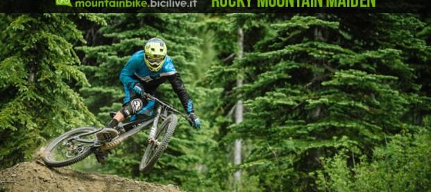 Rocky Mountain Maiden: la nuova bici full carbon