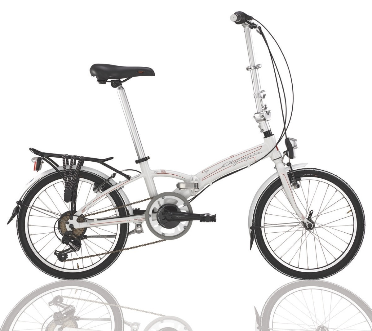 Olympia zip la pratica bici pieghevole per la citt for Bici pieghevole milano