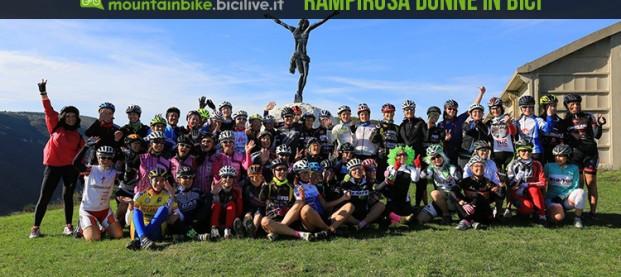 Donne in bici: Rampirosa, l'evento mountain bike organizzato nelle Marche