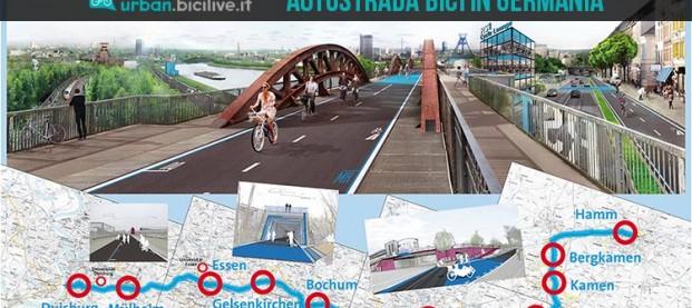 Apre in Germania la prima autostrada per bici