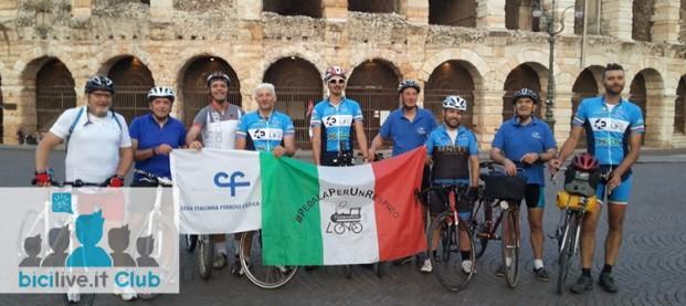 In bici tra Verona e il Lago di Garda con il club mtb Ciclone ASD