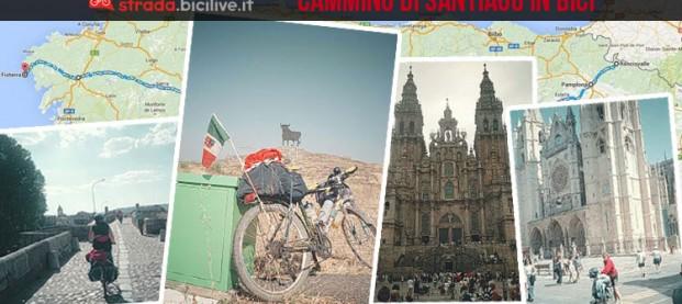 Il Cammino di Santiago in bicicletta, ma senza cane e carrellino