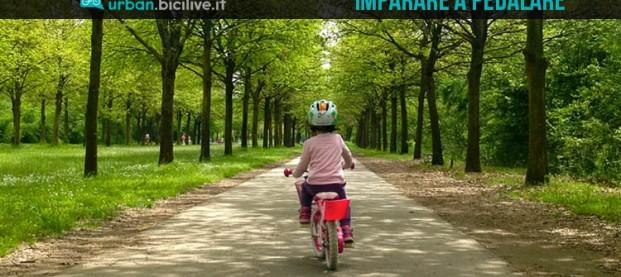Come ho insegnato a mia figlia ad andare in bici