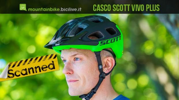 Test casco mtb Scott Vivo Plus con sistema MIPS