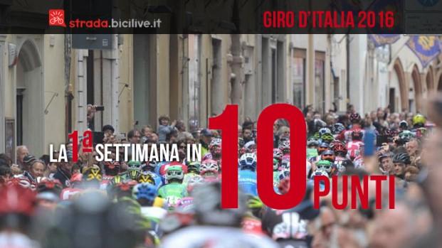 Giro d'Italia 2016, prima settimana: 10 cose a ruota libera