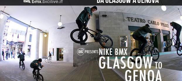 Nike BMX: da Glasgow a Genova con cinque campioni