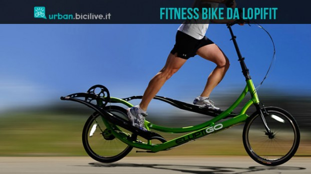 StepperBike ed ElliptiGo: da Lopifit arriva l'invasione delle fitness bike