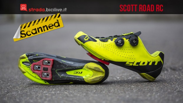 Test scarpe ciclismo strada Scott Road RC
