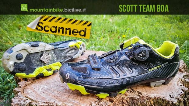Test scarpe mtb Scott Team Boa