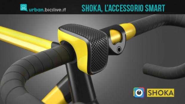 Shoka, l'accessorio smart per i ciclisti urbani