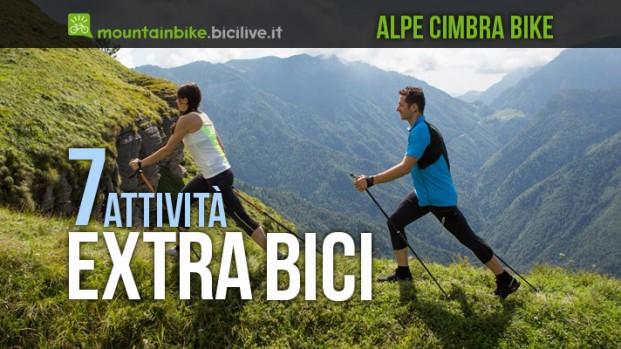 7 attività che valgono una vacanza in Alpe Cimbra Bike