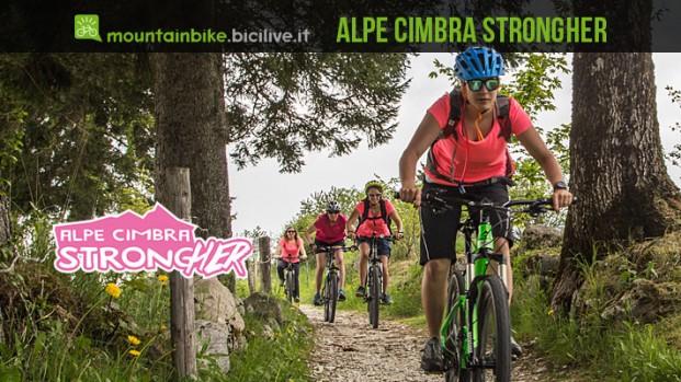 Alpe Cimbra Bike StrongHER: tre giorni di mtb e relax dedicati alle donne