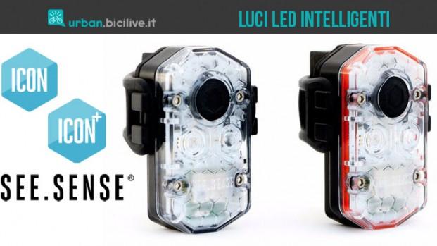 Icon: le luci led intelligenti per la tua bici urbana