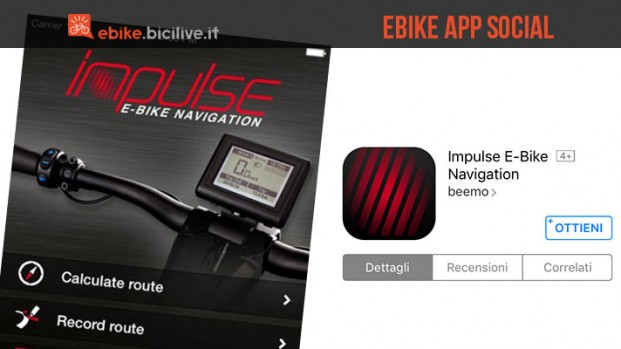 Impulse Evo dona alla tua ebike navigatore satellitare e condivisione social