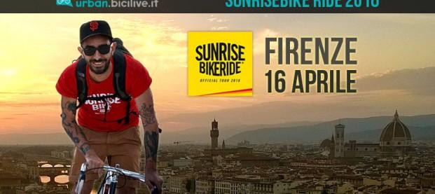 Sunrisebike Ride Firenze: il via all'alba del 16 aprile