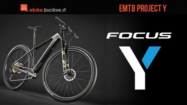 Focus Project Y, la mountain bike elettrica leggera per il 2017