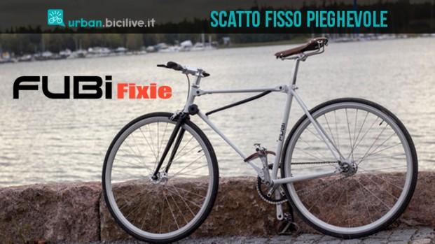 Fubi Fixie, la bici pieghevole a scatto fisso per la città