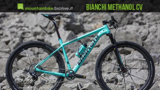 Methanol CV: la nuova mtb da cross country di Bianchi