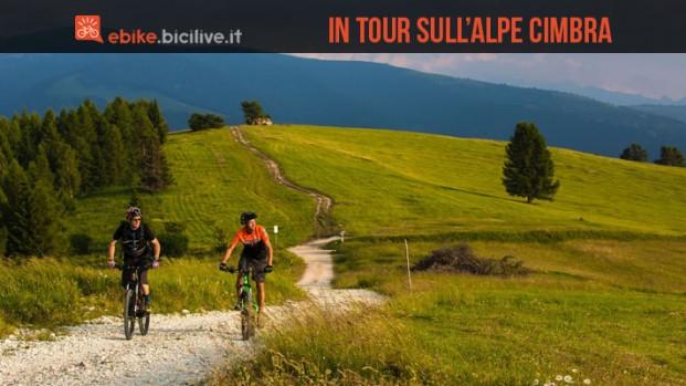 Un weekend in ebike all'Alpe Cimbra: il nostro tour