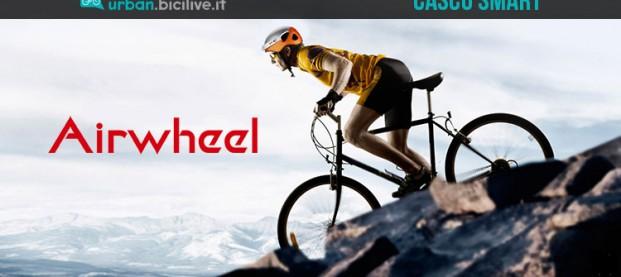 Airwheel C5: il casco intelligente con videocamera incorporata