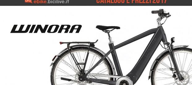 Bici elettriche Winora: catalogo e listino prezzi 2017