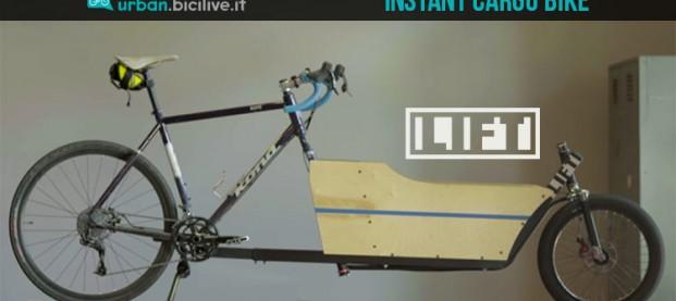 Trasforma la tua bici in una cargo bike con LIFT