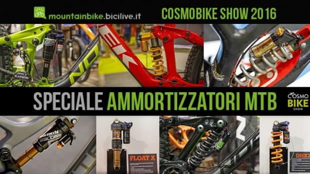 Speciale ammortizzatori mtb a CosmoBike Show 2016