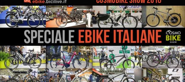 12 bici elettriche italiane da città viste a CosmoBike Show