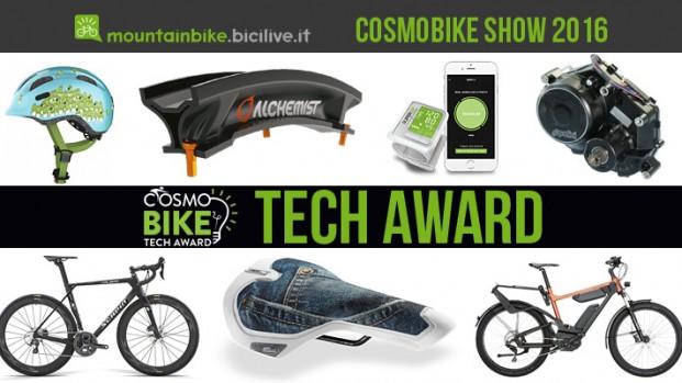 CosmoBike Tech Award 2016: tecnologia e innovazione al servizio del ciclista