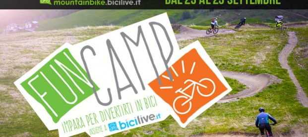 FunCamp BiciLive e workshop a Livigno dal 23 al 25 settembre