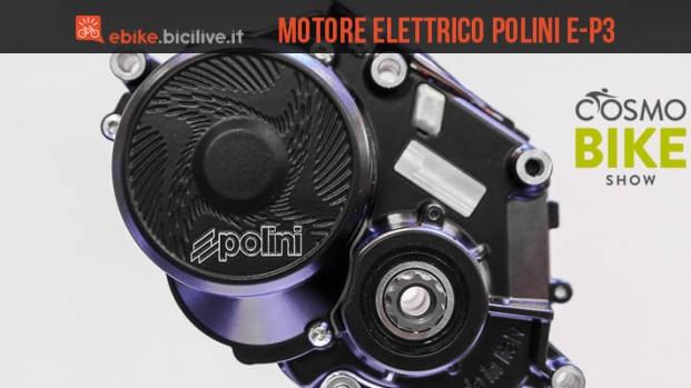 E-P3 Polini: il motore elettrico per ebike vince e convince