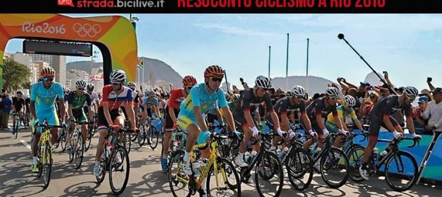 Il resoconto sul ciclismo a Rio 2016: presente e futuro del nostro sport