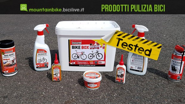 Soudal: test lubrificanti e prodotti per pulizia della bici