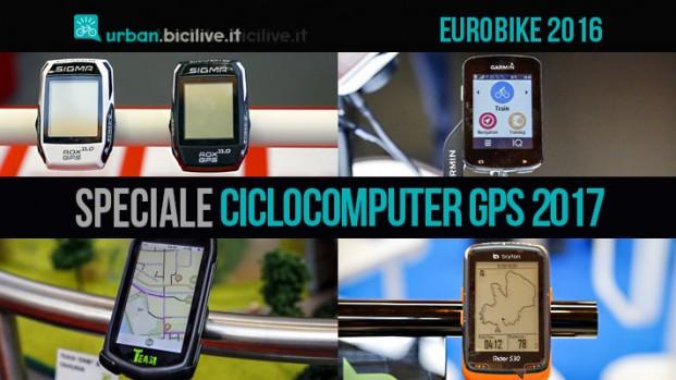 Eurobike: novità ciclocomputer GPS 2017