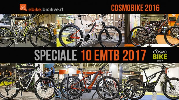 CosmoBike Show 2016: speciale 10 emtb