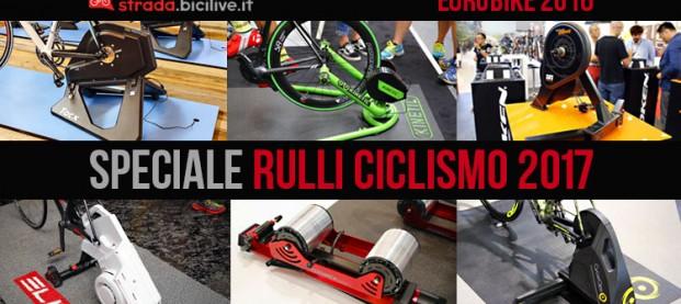 Le novità sui rulli per l'allenamento 2017 a Eurobike