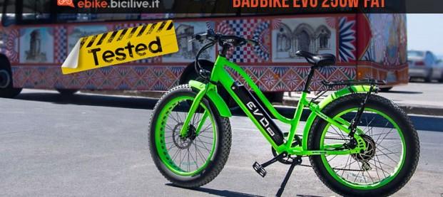 Test Bad Bike EVO, la bici elettrica fat da città
