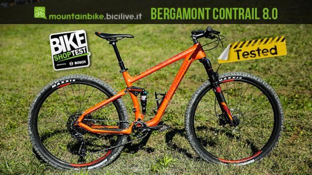 Bergamont Contrail 8.0 2017, full da 29″ in carbonio