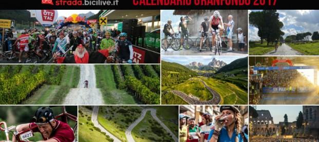 Calendario completo granfondo ciclismo 2017