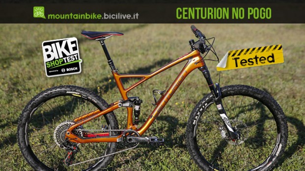 Test mtb all mountain Centurion Nopogo 3000.27