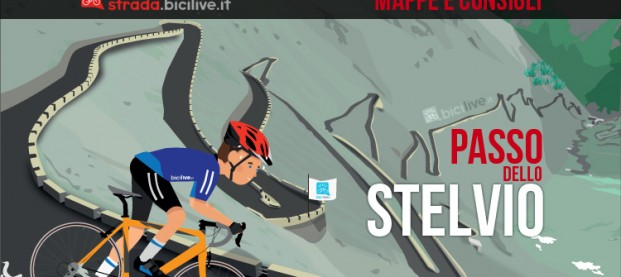 Passo dello Stelvio in bici da corsa: mappe e consigli su come affrontarlo