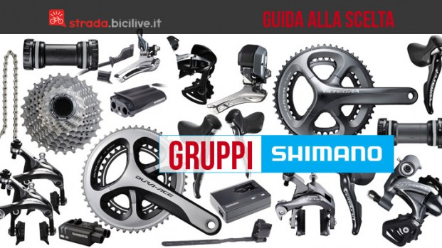 Guida alla scelta dei gruppi Shimano per bici da corsa
