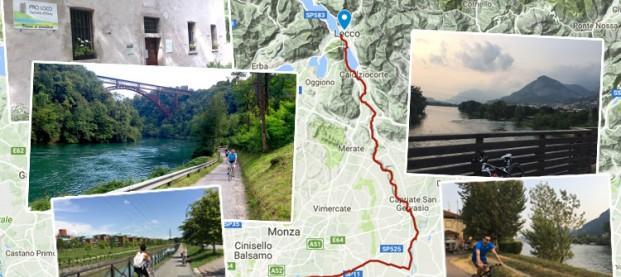 Itinerario da Milano a Lecco in bici: consigli e istruzioni da seguire