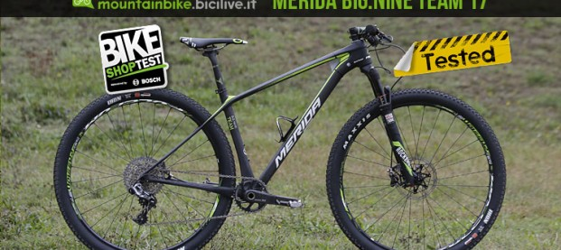 Test mtb Merida Big.Nine Team 2017