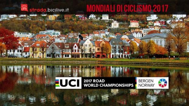 Mondiali ciclismo 2017 a Bergen, programma gare e percorsi