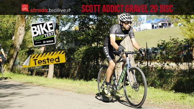 Test gravel bike Scott Addict Gravel 20 Disc