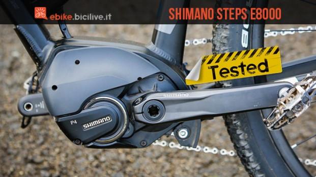 Test motore elettrico Shimano Steps E8000: un nuovo contendente per le e-mtb