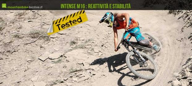 Test mtb Intense M16 alluminio