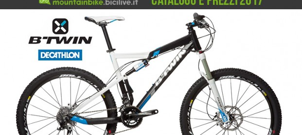 Mtb B'Twin by Decathlon: catalogo e listino prezzi 2017