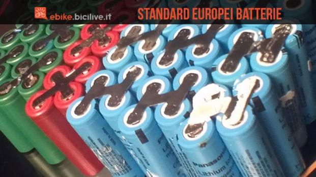 L'Unione Europea fissa nuovi standard per le batterie per bici elettriche